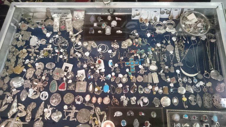 Silver antiques vintage store Toronto